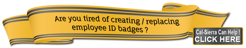 Are you tired of creating and replacing employee I.D. and Badges?